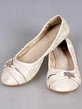 свадебная обувь, балетки цвета айвори