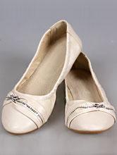 свадебная обувь, балетки айвори со стразами купить