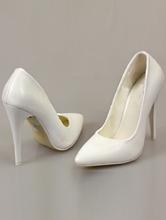 купить классические белые туфли-лодочки маленьких размеров, каталог