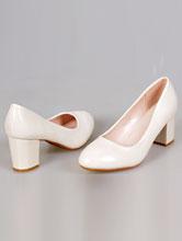 купить свадебные туфли цвета айвори больших размеров на маленьком устойчивом каблуке, с доставкой и в салоне, москва