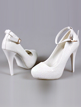 туфли на скрытой платформе молочного цвета с ремешком, фото, цена