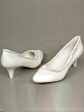 белые туфли на низком каблуке со стразами, картинки, цена