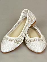 белые кружевные свадебные балетки, картинка, заказать