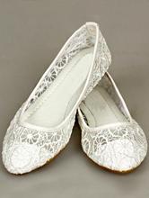 белые кружевные свадебные балетки, купить в москве