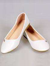 купить свадебные балетки белого цвета 41, 42, 43 размера, интернет-магазин, москва