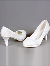 купить белую свадебная обувь на устойчивом каблуке, каталог