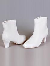 свадебная обувь, купить свадебные ботильоны на маленьком каблуке, фото и цены