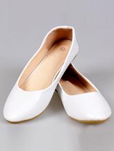 купить классические белые балетки для невесты 33,34, 35 размер, фото