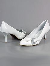 обувь на свадьбу белого цвета большого размера
