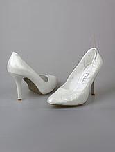 свадебная обувь, серебристые свадебные туфли, фото, каталог и цены, интернет-магазин