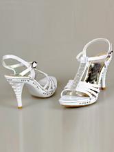 свадебные босоножки на среднем каблуке, фото, каталог с ценами