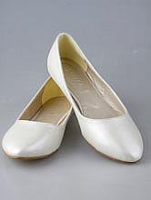 свадебная обувь, балетки айвори, обувь для беременных невест, фото, каталог с ценами