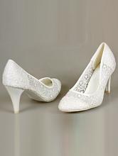 свадебная обувь недорого, кружевные туфли молочного цвета купить, москва