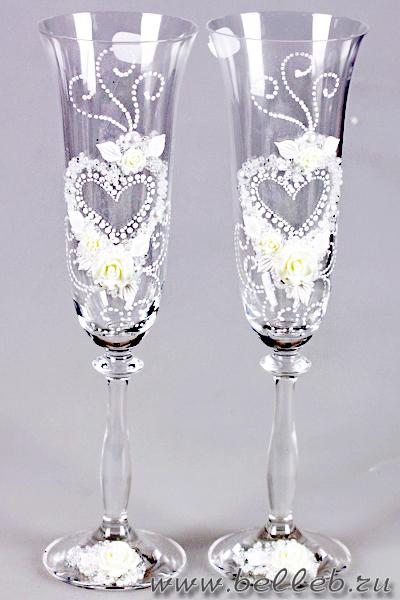 Оформления шампанского на свадьбу своими руками мастер