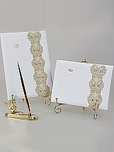 наборы: свадебные книги пожеланий и папки для свидетельства о браке